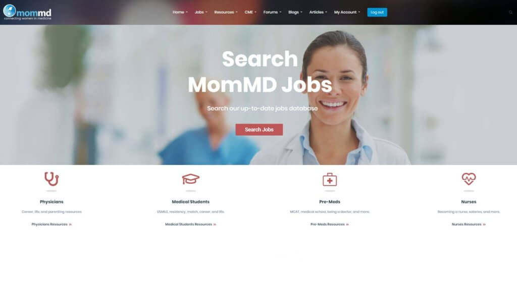 mommd homepage